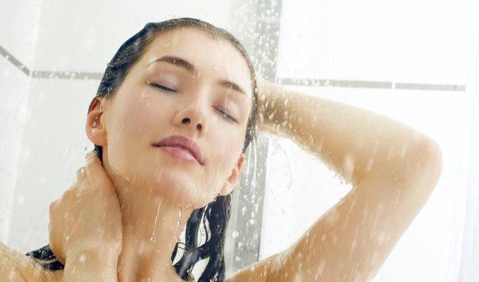 シャワーと体温の関係