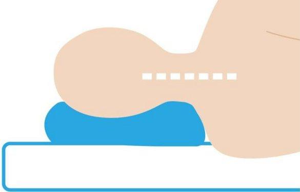 理想の枕(横向き)