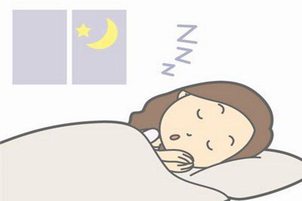 睡眠を取る